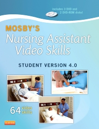 cover image - Mosby's Nursing Assistant Video Skills: Student Online Version 4.0,4th Edition