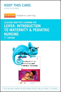 cover image - Elsevier Adaptive Learning for Introduction to Maternity & Pediatric Nursing (Access Code),7th Edition