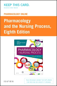 cover image - Pharmacology Online for Pharmacology and the Nursing Process -  (Retail Access Card),8th Edition