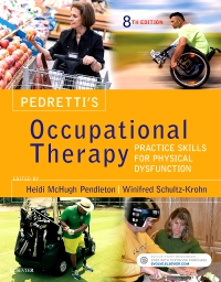 cover image - Evolve Resource for Pedretti's Occupational Therapy,8th Edition