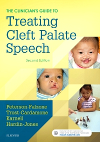 cover image - Evolve Resources for The Clinician's Guide to Treating Cleft Palate Speech,2nd Edition
