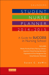 cover image - Saunders Student Nurse Planner, 2014-2015 - Elsevier eBook on VitalSource,10th Edition