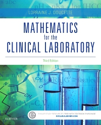 cover image - Mathematics for the Clinical Laboratory,3rd Edition