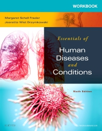 cover image - Workbook for Essentials of Human Diseases and Conditions - Elsevier eBook on VitalSource,6th Edition