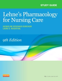 cover image - Study Guide for Lehne's Pharmacology for Nursing Care - Elsevier eBook on VitalSource,9th Edition