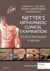 cover image - Netter's Orthopaedic Clinical Examination Elsevier eBook on VitalSource,3rd Edition