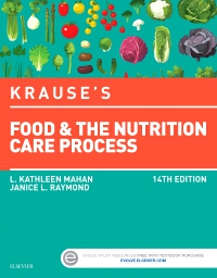 cover image - Krause's Food & the Nutrition Care Process - Elsevier eBook on VitalSource,14th Edition
