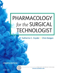cover image - Pharmacology for the Surgical Technologist,4th Edition
