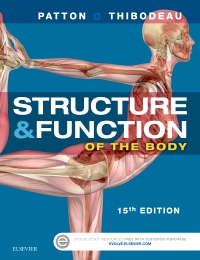 cover image - Structure & Function of the Body - Softcover,15th Edition