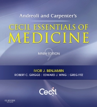 cover image - Andreoli and Carpenter's Cecil Essentials of Medicine Elsevier eBook on VitalSource,9th Edition