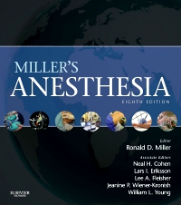cover image - Miller's Anesthesia Elsevier eBook on VitalSource,8th Edition