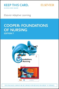 cover image - Elsevier Adaptive Learning for Foundations of Nursing (Retail Access Card),7th Edition