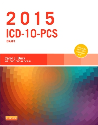 cover image - 2015 ICD-10-PCS Draft Edition - Elsevier eBook on VitalSource