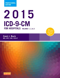 cover image - 2015 ICD-9-CM for Hospitals, Volumes 1, 2 and 3 Professional Edition - Elsevier eBook on VitalSource