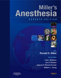 cover image - Miller's Anesthesia 2 volume set Elsevier eBook on VitalSource,7th Edition