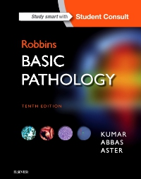 cover image - Robbins Basic Pathology,10th Edition