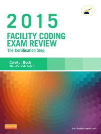 cover image - Evolve Exam Review for Facility Coding Exam Review 2015