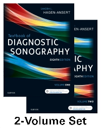 cover image - Textbook of Diagnostic Sonography,8th Edition