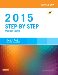 cover image - Workbook for Step-by-Step Medical Coding, 2015 Edition - Elsevier eBook on VitalSource