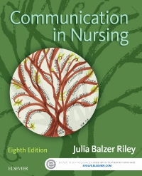 cover image - Communication in Nursing - Elsevier eBook on VitalSource,8th Edition