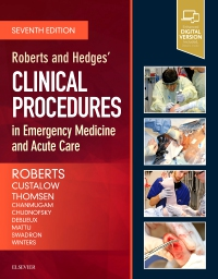cover image - Roberts and Hedges' Clinical Procedures in Emergency Medicine and Acute Care,7th Edition