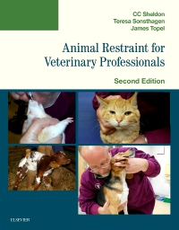 cover image - Animal Restraint for Veterinary Professionals,2nd Edition