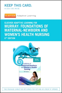 cover image - Elsevier Adaptive Learning for Foundations of Maternal-Newborn and Women's Health Nursing (Access Card),6th Edition