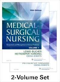 cover image - Medical-Surgical Nursing - 2-Volume Set,10th Edition