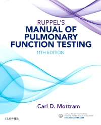 cover image - Ruppel's Manual of Pulmonary Function Testing,11th Edition