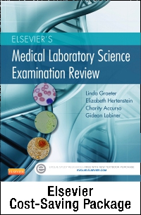 cover image - Elsevier's Medical Laboratory Science Examination Review - Elsevier eBook on VitalSource + Evolve Access (Retail Access Cards)