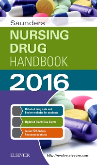 cover image - Saunders Nursing Drug Handbook 2016 - Elsevier eBook on VitalSource