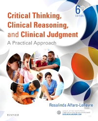 cover image - Critical Thinking, Clinical Reasoning, and Clinical Judgment,6th Edition