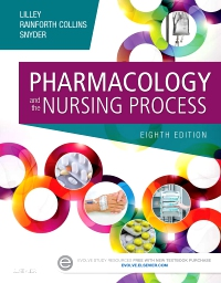 cover image - Evolve Resources for Pharmacology and the Nursing Process,8th Edition