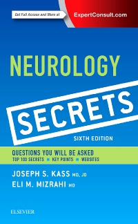 cover image - Neurology Secrets,6th Edition