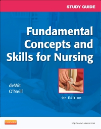 cover image - Study Guide for Fundamental Concepts and Skills for Nursing - Elsevier eBook on VitalSource,4th Edition