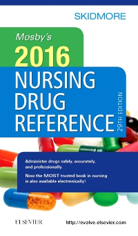 cover image - Mosby's 2016 Nursing Drug Reference - Elsevier eBook on VitalSource,29th Edition