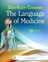 cover image - The Language of Medicine - Elsevier eBook on VitalSource,11th Edition