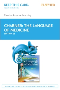 cover image - Elsevier Adaptive Learning for The Language of Medicine (Access Card),11th Edition