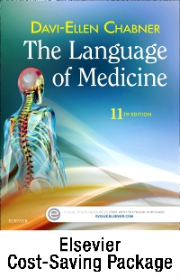 cover image - The Language of Medicine - Text and Elsevier Adaptive Learning Package,11th Edition