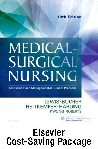 cover image - Medical-Surgical Nursing - Two Volume Text and Virtual Clinical Excursions Online Package,10th Edition