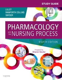 cover image - Study Guide for Pharmacology and the Nursing Process,8th Edition