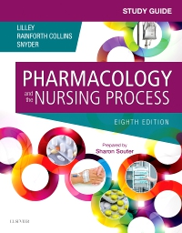 cover image - Study Guide for Pharmacology and the Nursing Process - Elsevier eBook on VitalSource,8th Edition