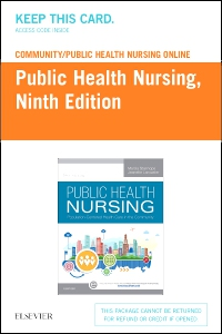 cover image - Community/Public Health Nursing Online for Stanhope and Lancaster, Public Health Nursing (Access Card),9th Edition