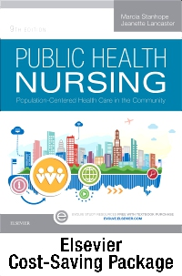 cover image - Community/Public Health Nursing Online for Stanhope and Lancaster, Public Health Nursing (Access Code and Textbook Package),9th Edition