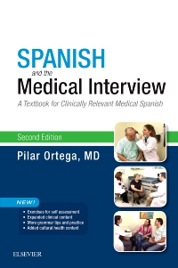 cover image - Spanish and the Medical Interview Elsevier eBook on VitalSource,2nd Edition