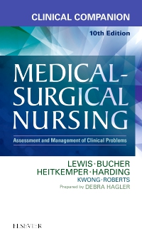 cover image - Clinical Companion to Medical-Surgical Nursing - Elsevier eBook on VitalSource,10th Edition
