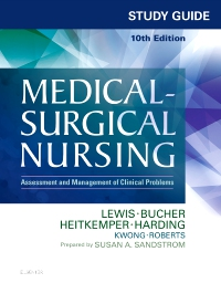 cover image - Study Guide for Medical-Surgical Nursing - Elsevier eBook on VitalSource,10th Edition