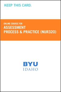 cover image - Assessment Process and Practice Course Fee (NUR320CF)