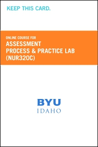 cover image - Assessment Process and Practice Lab Course Fee (NUR320C CF)