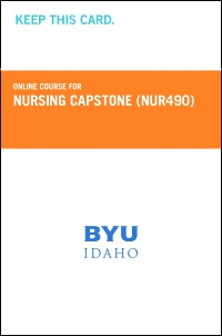 cover image - Nursing Capstone Course Fee (NUR490CF)